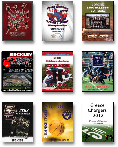 Program Books Media Guides