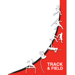 Track & Field Silhouette