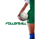 Volleyball Player Ball